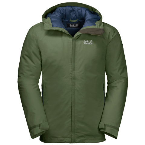 Jack Wolfskin Mens Argon Storm Jacket - Waterproof and Warm